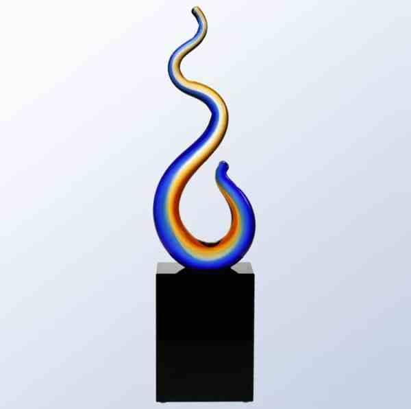 G1605 Sunset Vision Glass Art