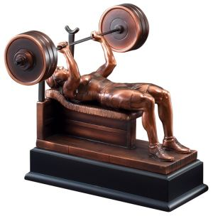 Female Bench Press Trophy RFB089
