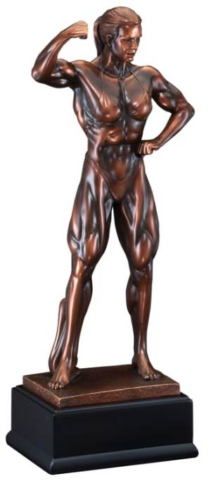 Women's Bodybuilding Trophy