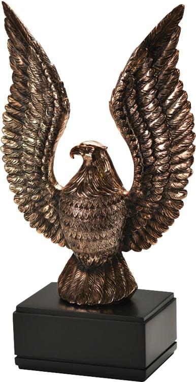 60713GS Eagle Statue