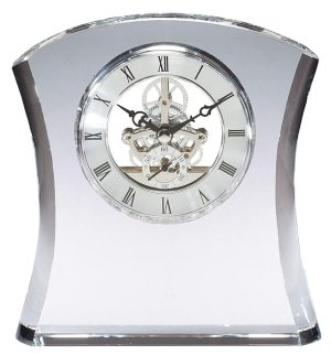 CRY383 Crystal Clock