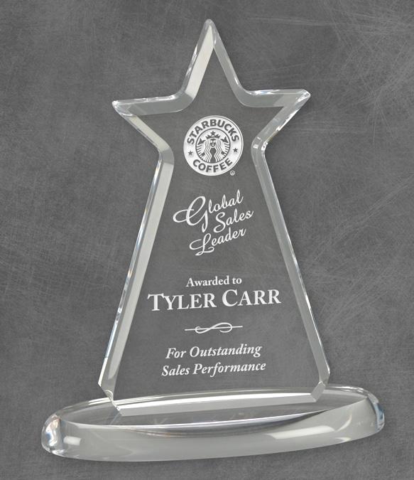 KT44847 Acrylic Star Trophy