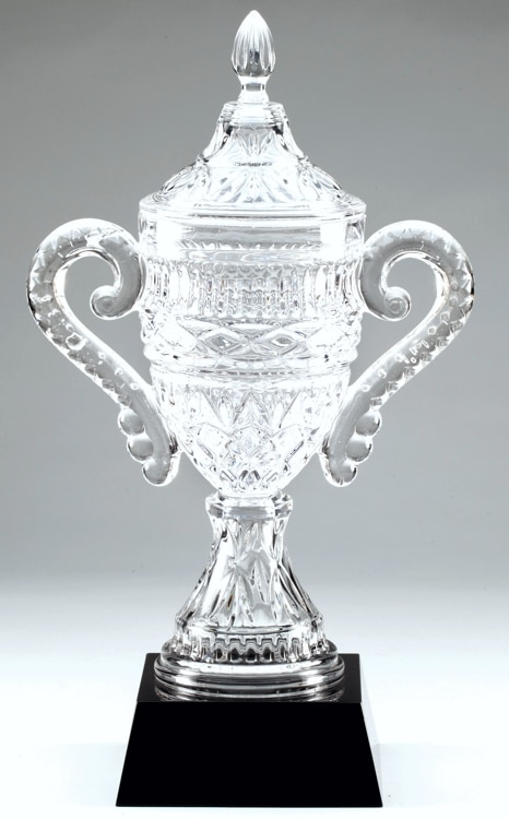 CRY388 Crystal Trophy Cup