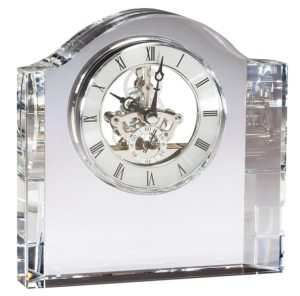 Crystal Skeleton Clock CRY384