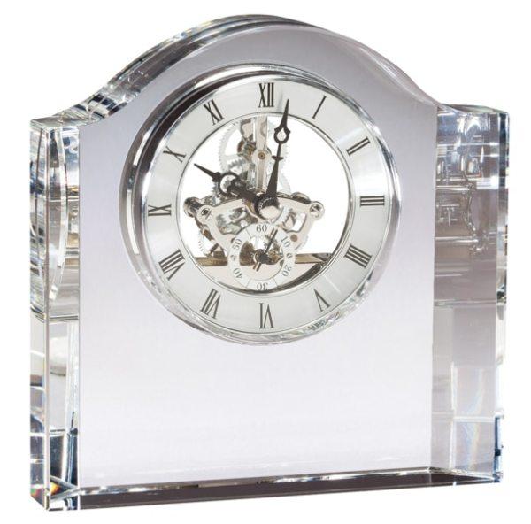 Crystal Skeleton Clock CRY384