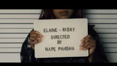 Photo of Elaine Drops Music Video For Risky