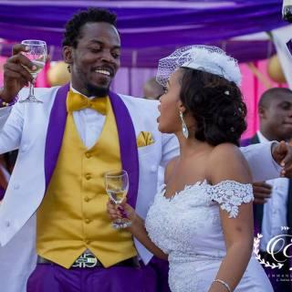 kwaw kese wife wedding