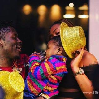 Shatta Michy tips her son Majesty to be a music star