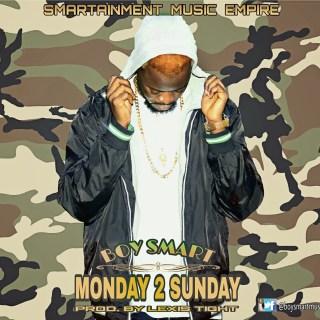 Boy Smart Monday  Sunday Prod