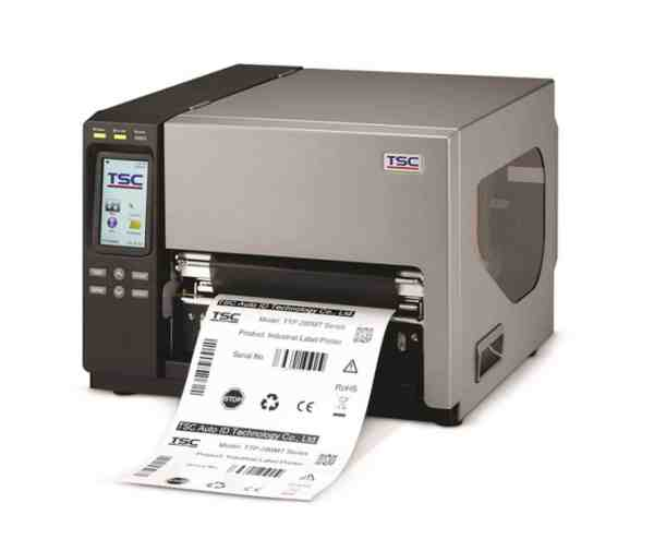 TSC TTP-286MT SERIE – INDUSTRIE THERMOTRANSFER ETIKETTENDRUCKER