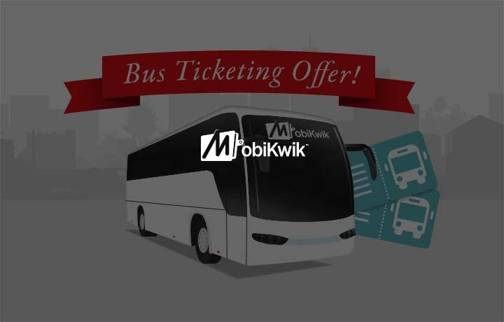 mobikwik bus ticket booking offers