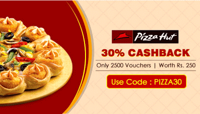 crownit-pizzahut git voucher cashback-offer-loot