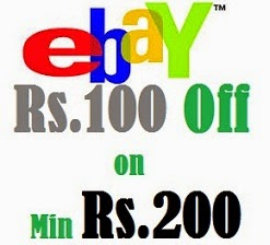 ebay 200rs off on 599rs