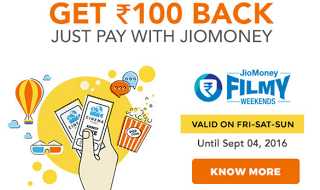 BMS Free Voucher Jio Money hiva26 offer