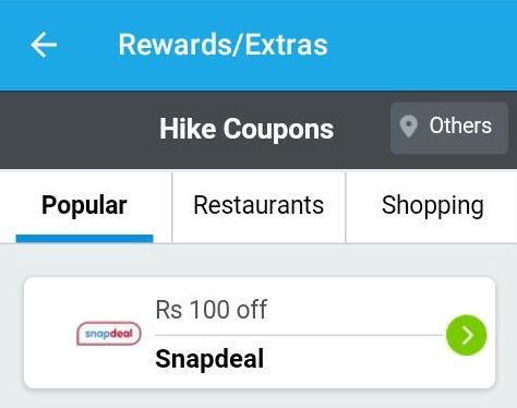 hike snapdeal coupon 100rs for free hiva26