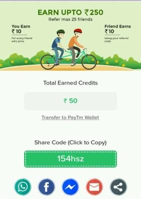 listup app free paytm cash hiva26