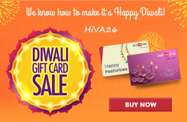 bookmyshow gift card diwali sale hiva26