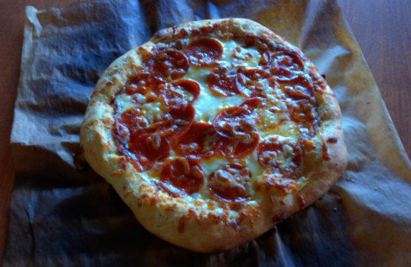 parchment pizza