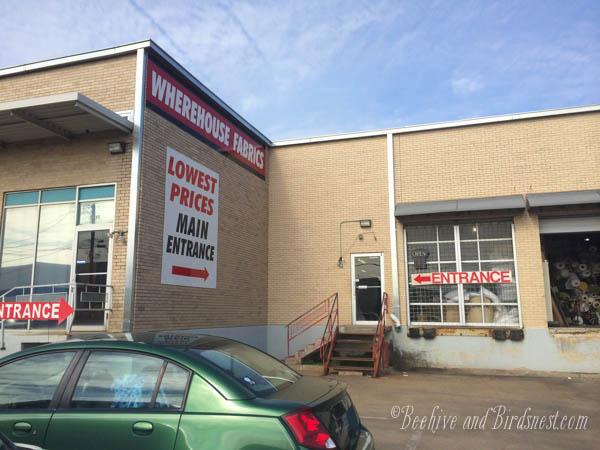 Fabric WArehouse DAllas. Home Dec Warehouse Dallas