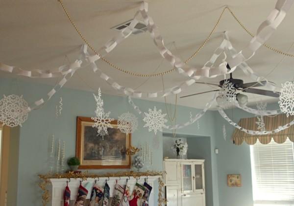 White paper Christmas Elf movie