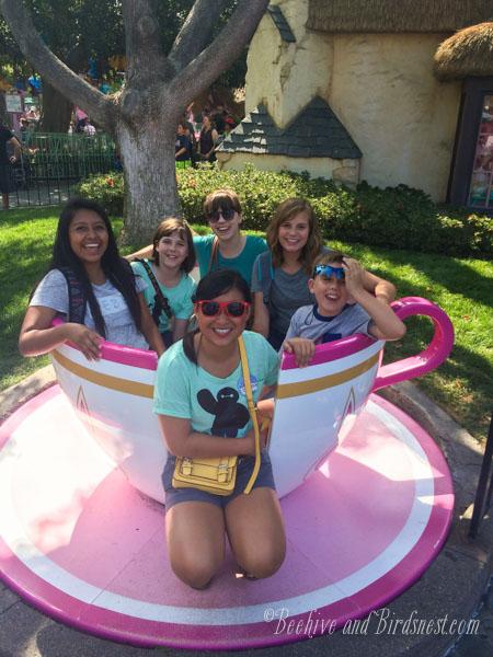 San Diego Disney Teacup