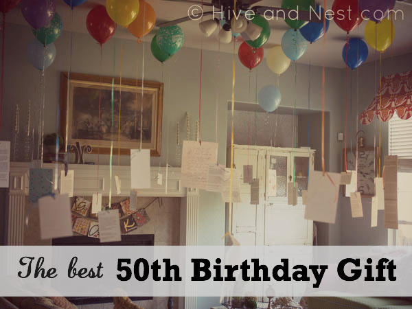 Best 50th birthday gift-hiveandnest.com