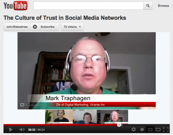 Culture of Trust in Social Media Networks video