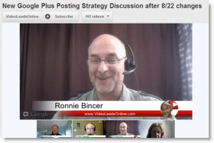 Google Plus notifications posting strategy video