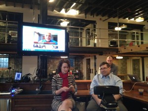 Amy Lewis & Marty Smith at Raleigh SEO Meetup