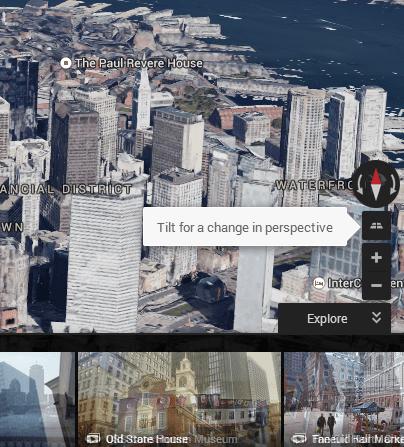 Google Earth in Google Maps