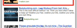 In Depth Articles Search Leg