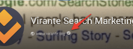 Google Plus Page verification mark