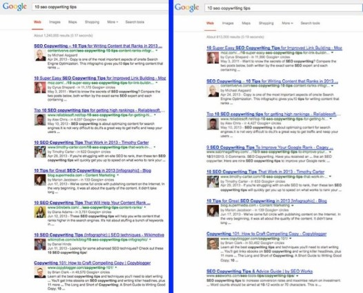 Has Google Begun to Purge Google Authorship in Search?