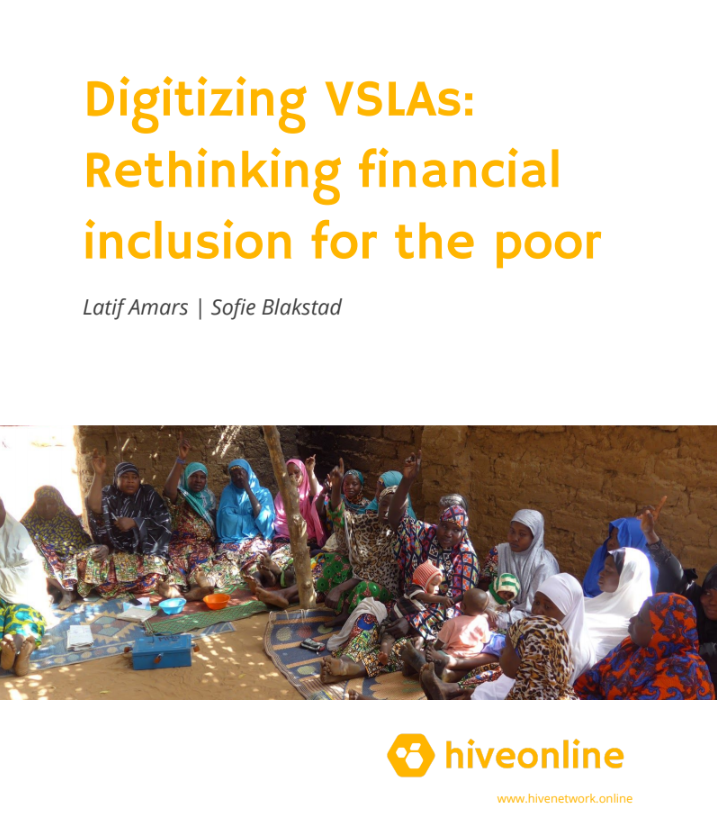 Digitalising VSLAs - rethinking financial inclusion for the poor