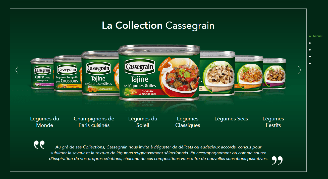 Cassegrain lance son site e-commerce