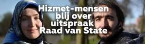 Hizmet-mensen zijn blij met uitspraak hoger beroep Raad van State