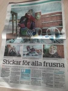 Tidningsartikel Dalarna