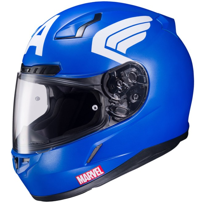 Hjcs Ly Licensed Marvel Graphic Helmets Hjc Helmetssite