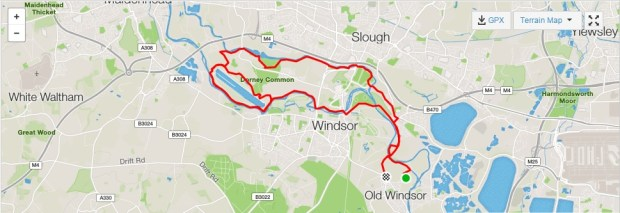 Windsor Cyclocross Route