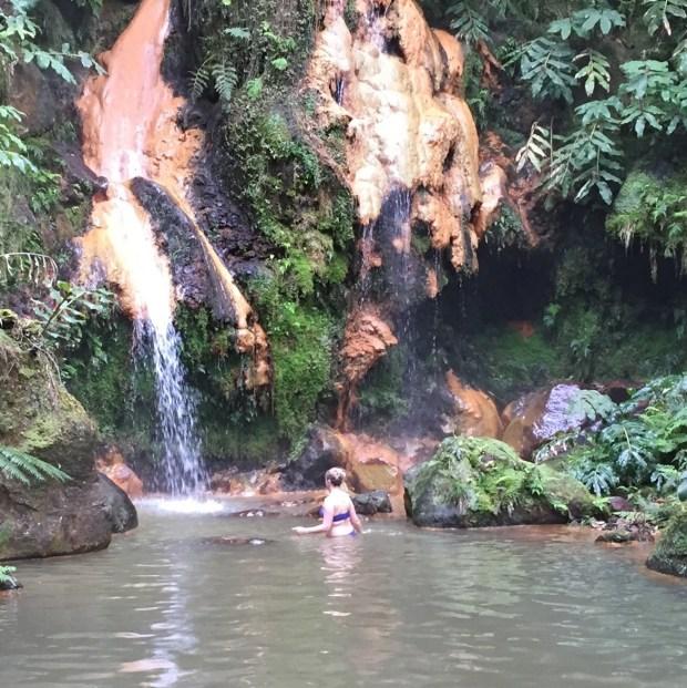 Caldeira Velha Thermal Baths, Sao Miguel, Azores