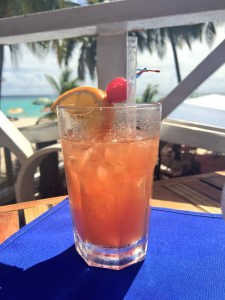 Rum punch is just too good!