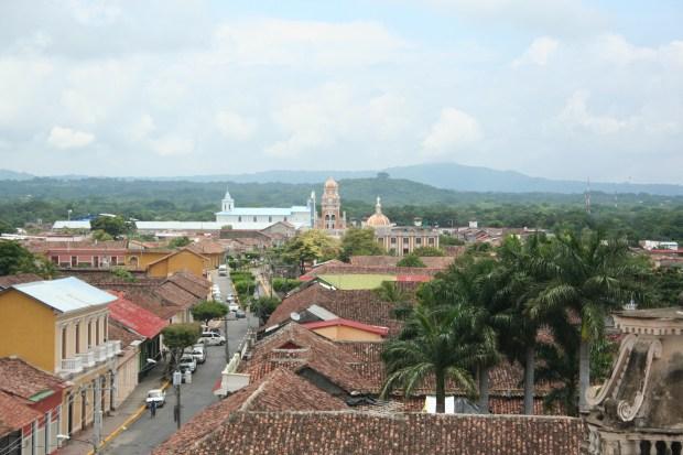 Granada Nicaragua, churches, view, volcanos