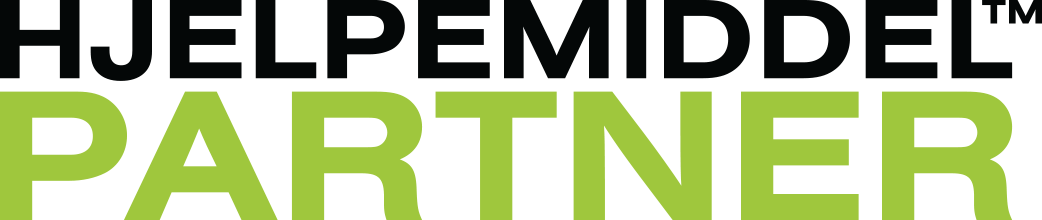 Hjelpemiddelpartner! Logo