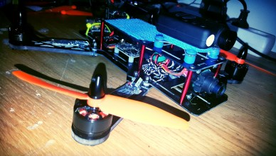 Ultimate racing FPV quadcopter