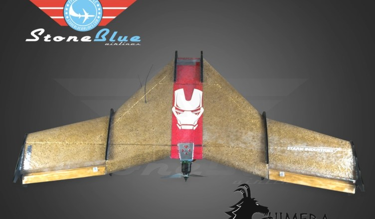 New project Wyvern Chimera Mini flying wing