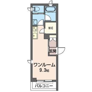 2面採光の角部屋♪(間取)