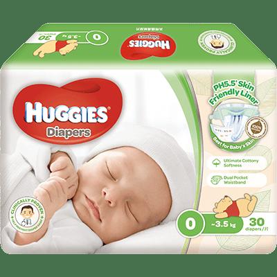 Huggies天然護膚紙尿片 紙尿片・紙尿褲 Huggies 香港