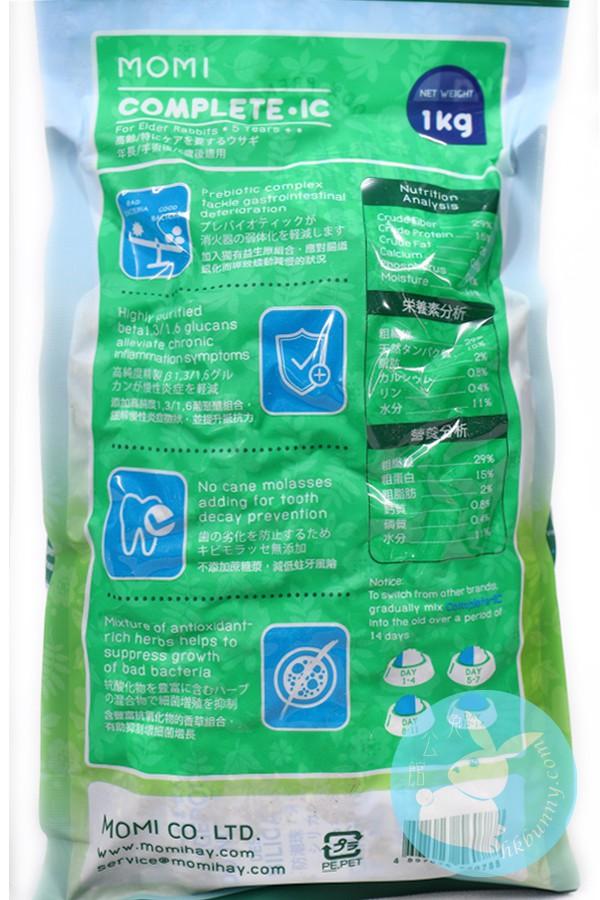 Momi 摩米 全營養IC老兔糧(5歲以上成兔糧) 1KG