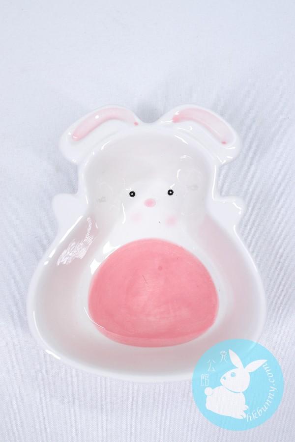兔兔天竺鼠龍貓小朋友用可愛兔子造型碗子