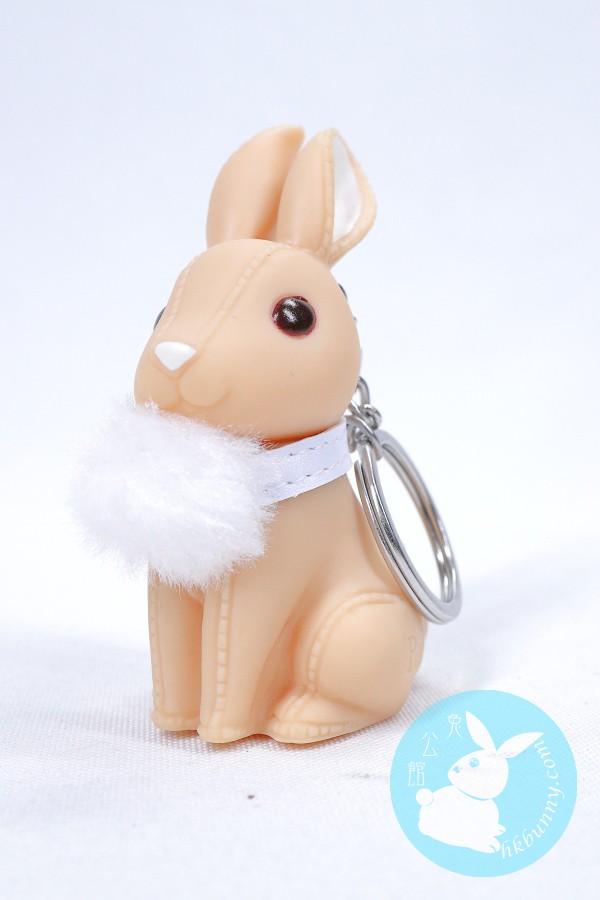 啡色小兔鎖匙扣